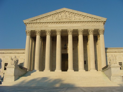 The Supreme Court of the United States, where the arguments were held