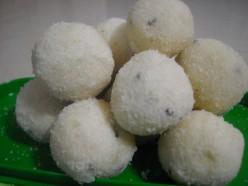 Sweets recipes; Rava ladoo and rava kesari