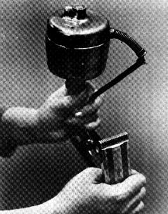The pre-WW1 two handed electric shaver