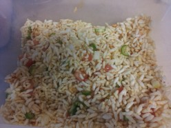 Spicy puffed rice ( Jhaal Mudi )