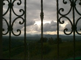 A storm brewing in Colombia coffee country