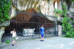 The Grotto of Lourdes