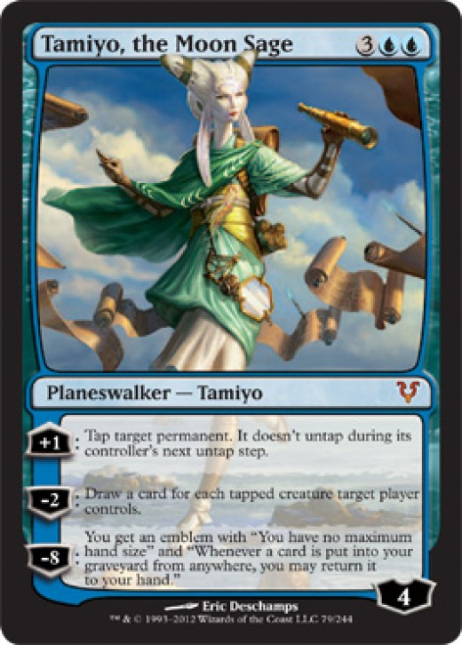The new blue Planeswalker!