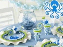 Whale or Ocean Themed Baby Shower