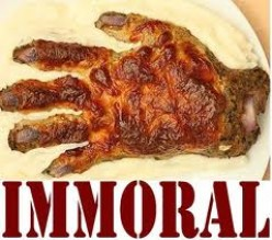 Do you think eating meat is immoral?
