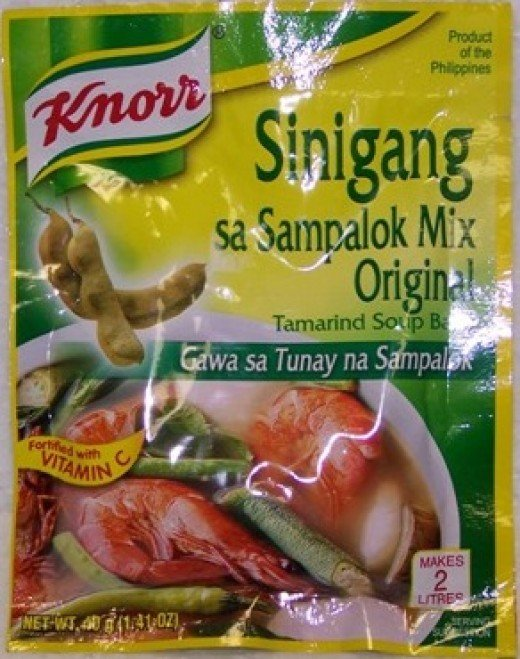 Knorr Brand of soup base to give you a general idea