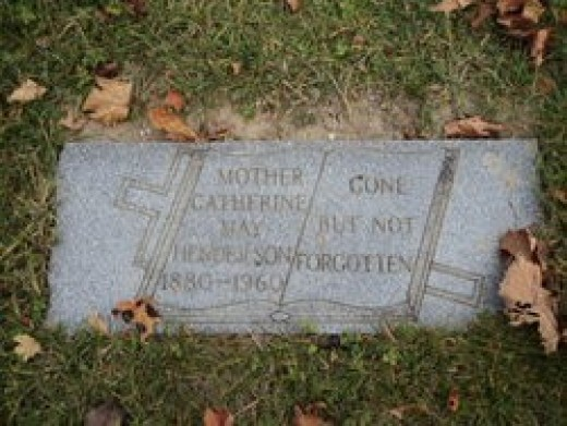Tombstone of my great grandmother Catherine Mae Hudson Henderson