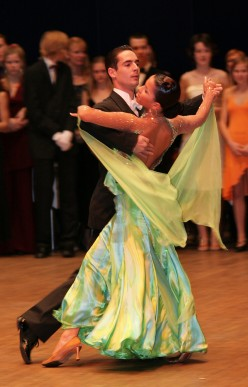 Ballroom and Latin Dancing - Preparing for a Medalist Competition