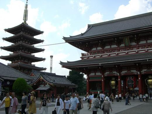 Sensoji Temple, Asakusa.