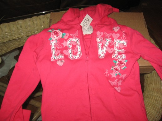 Girls clothing like hoodies for under $3? Yep!