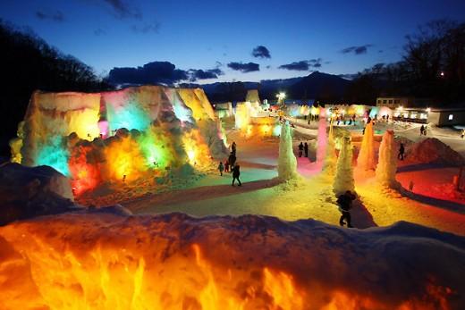 Hokkaido Ice Festival - Amazing