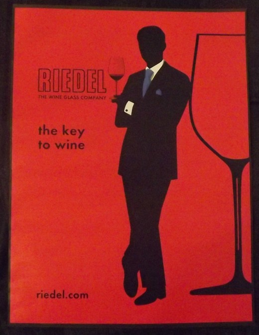 2010 Riedel Wine Glass Print Ad