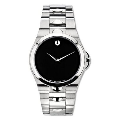 Men's | Stainless Steel | Classic Black Dial