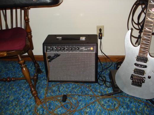Fender SCXD & Ibanez RG-2570Z