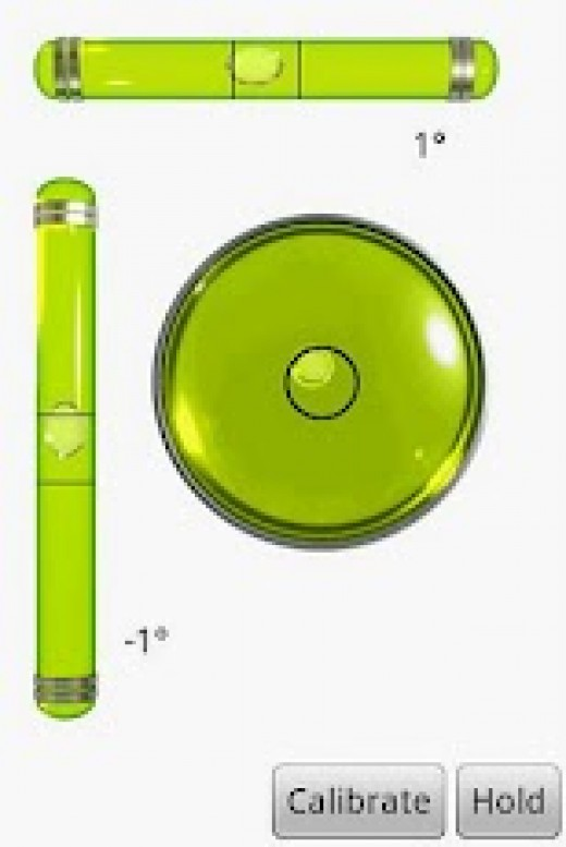 Spirit Level Measurement using Spirit Level Plus