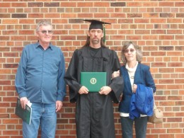 My Step-Dad, my Mom, and I