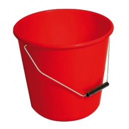 A red bucket