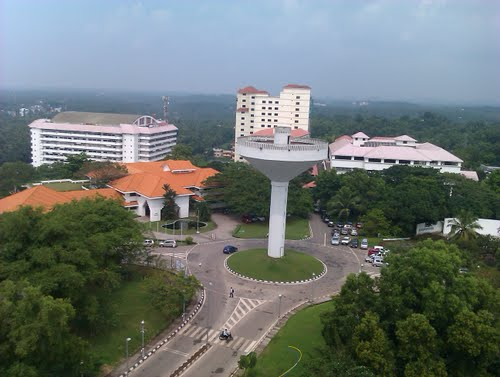 View of technopark from Thejaswini Building