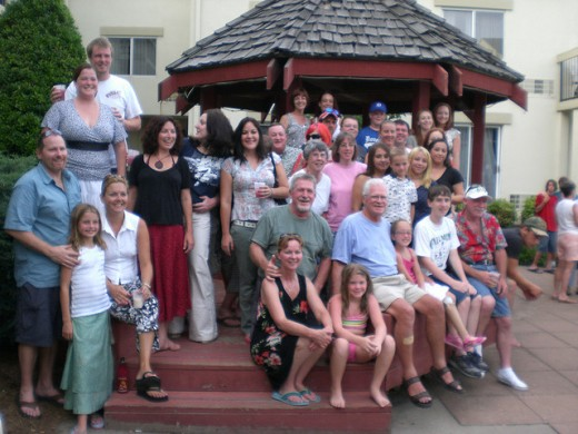 A family reunion is a great way to help people recognize their family connections.  They can tell their stories and relate back to their common ancestors.