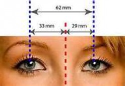 How to measure pupillary distance (PD) for online eyeglasses