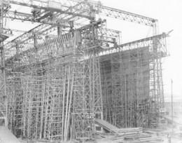 R.M.S Titanic construction frame