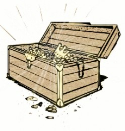 A good or a bad memory in the treasure chest?