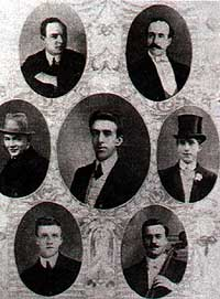 The Eight members of R.M.S Titanic's orchestra