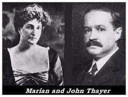Marian and her husband John Borland Thayer
