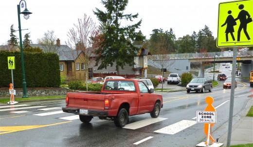 school crosswalks are not safe