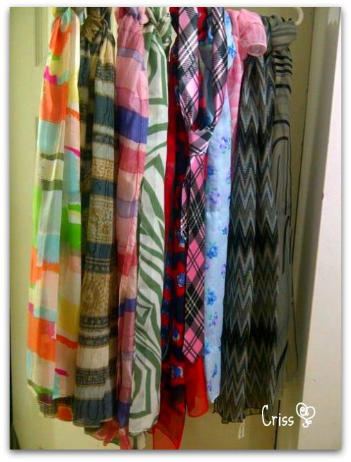 Spring scarves collection