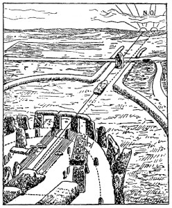 Stonehenge on midsummer, 1700 BC