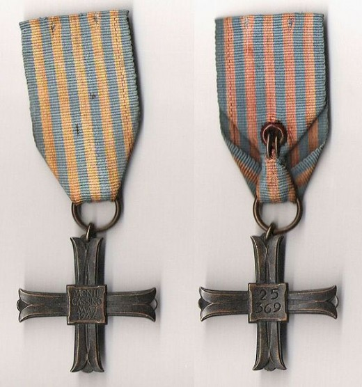 Polish Units Monte Cassino Commemorative Cross