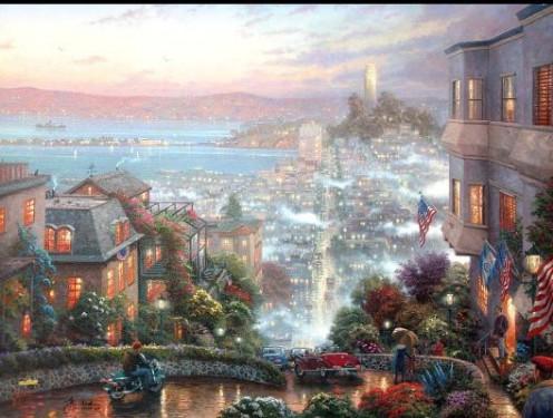 """San Francisco Lombard Street"""