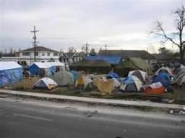 Urban Tent City
