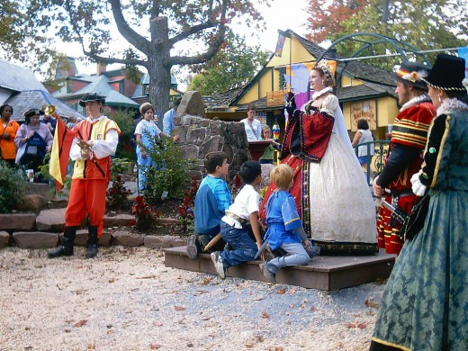 Pennsylvania Renaissance Faire - God save the Queen
