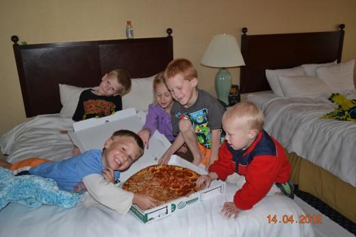 Fun at the Hotel
