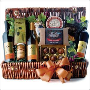 Wine Picnic Trio Gift Basket