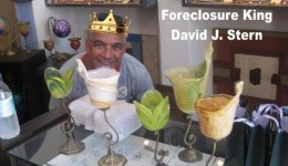 "What a Business  I'm in Foreclosure Heaven ""Kick 'em' all to the curb.  I want a bigger mansion""."