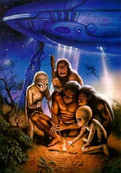 Was Bigfoot Placed on Earth by Ancient Aliens?