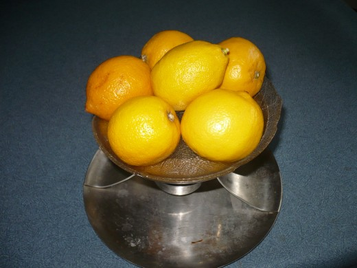 Real Lemons to Improve your Health