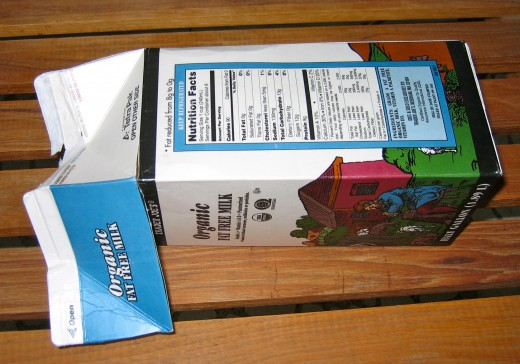 Step 1: Remove tops of carton