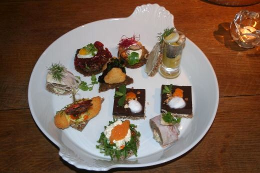 A selection of Smushi at the Royal Cafe
