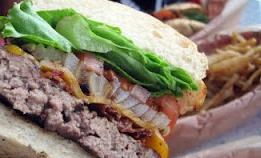Kua `Aina's Bacon Burger