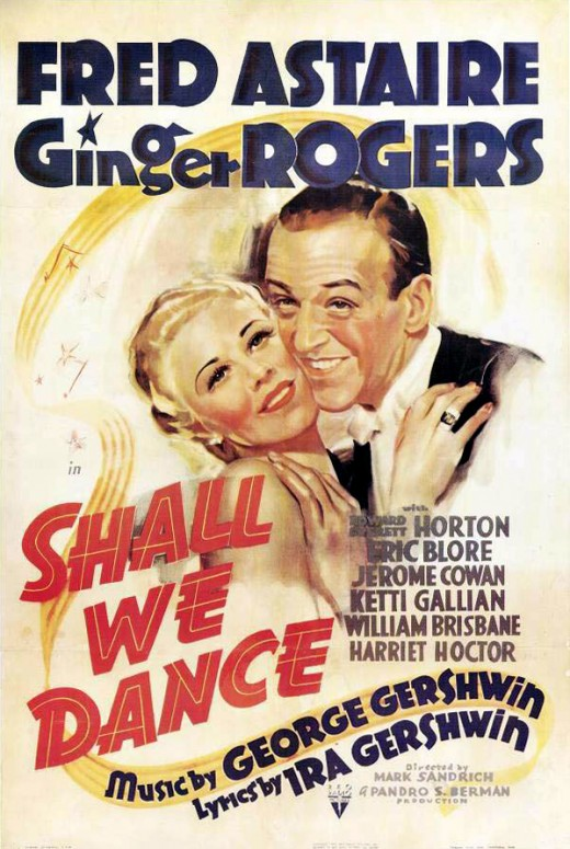 Movie Poster from Shall We Dance