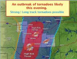 Tornado Season in Tornado Alley