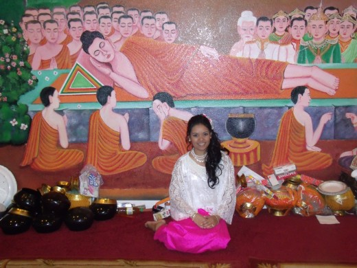 And this is me! Happy Khmer New Year! :) Year of dragon...that's my year! *wink*