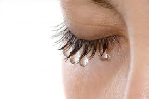 The purest of tears.