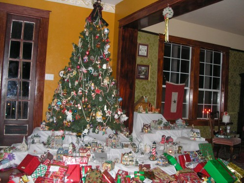 Christmas at our house.  (c)marye Audet 2008