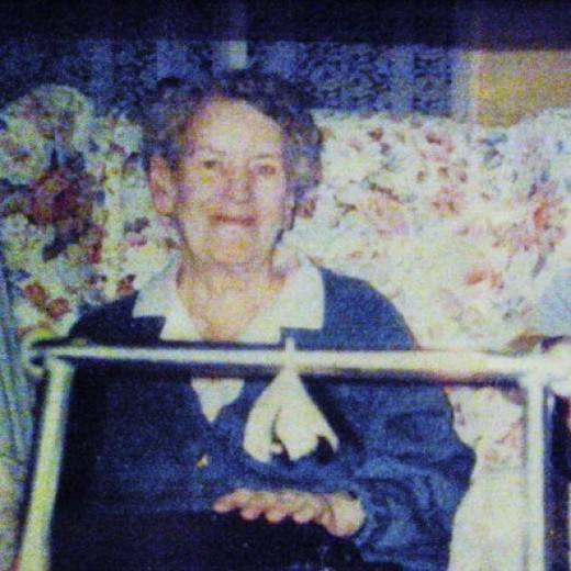 My lovely mum. Copyright Nell Rose Not to be used without permission.