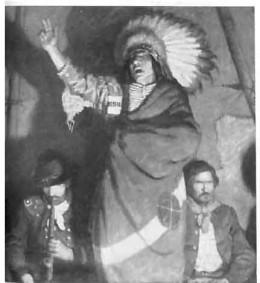 Chief Satanta called Bill a friend.